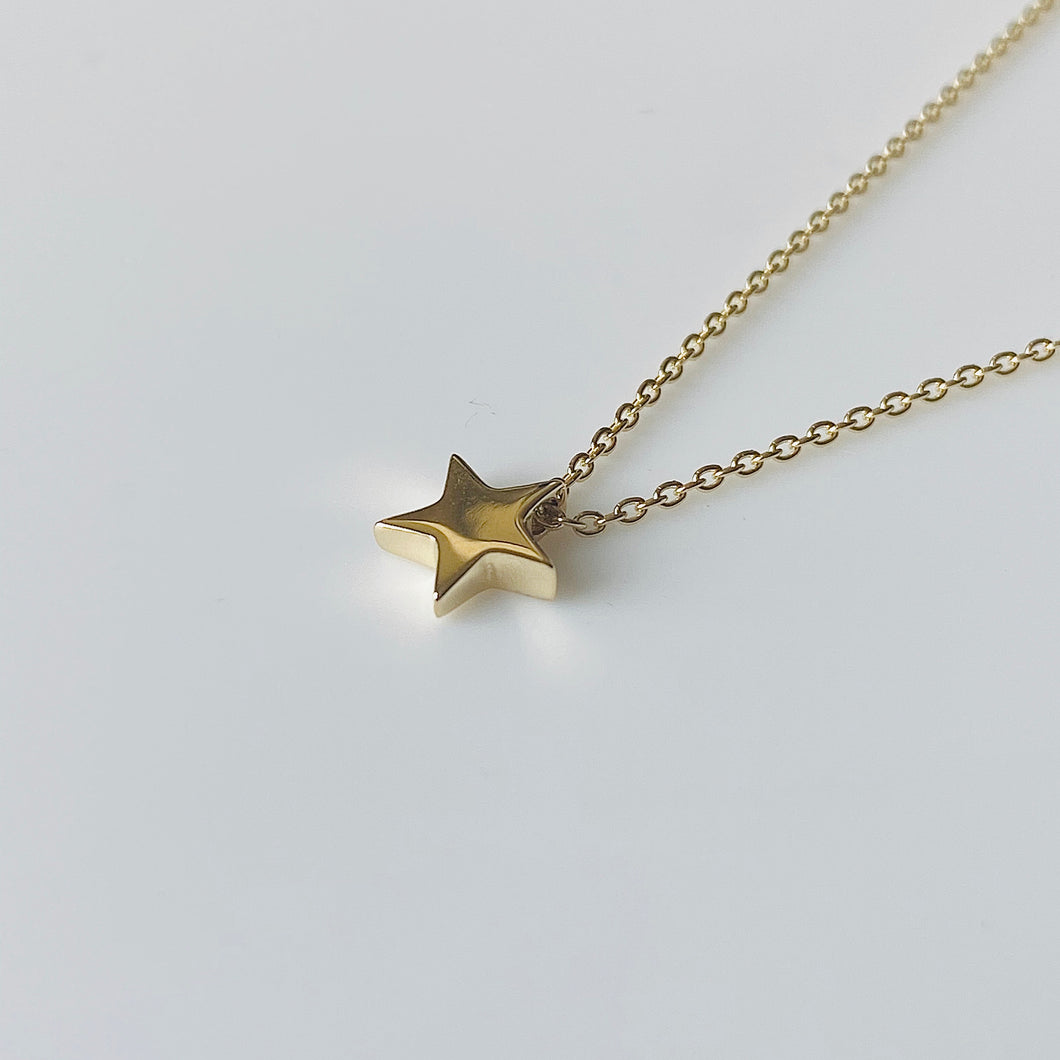 9ct Gold Star Pendant