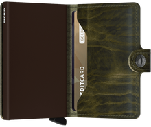 Load image into Gallery viewer, SECRID Miniwallet Dutch Martin Olive