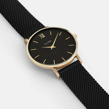 Load image into Gallery viewer, CLUSE Minuit Mesh Gold Black/Black