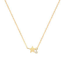 Load image into Gallery viewer, 9ct Gold Star Necklace