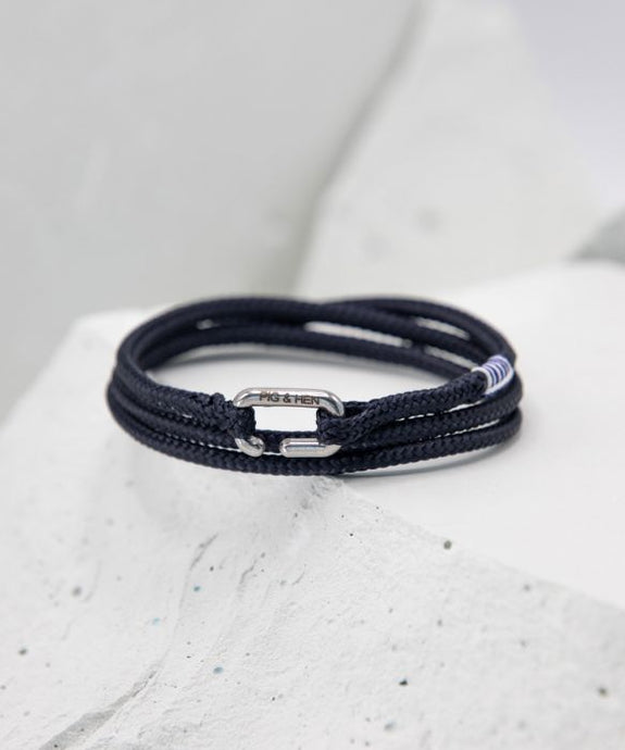 PIG & HEN Savage Sam Navy | Silver