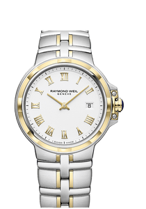 Raymond Weil Men  PARSIFAL 41mm Stainless steel, white dial