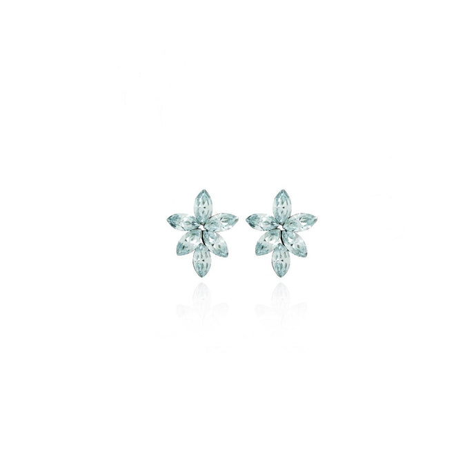 Victoria Cruz Snowflake Earrings