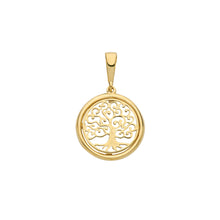 Load image into Gallery viewer, 9ct Gold Tree of Life Pendant