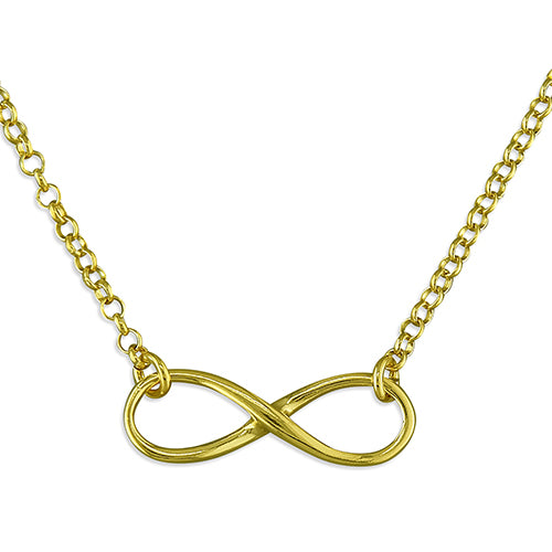 SUNSHINE Infinity Necklace