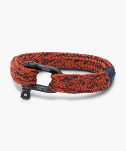 PIG & HEN Gorgeous George Coral Red - Navy | Black
