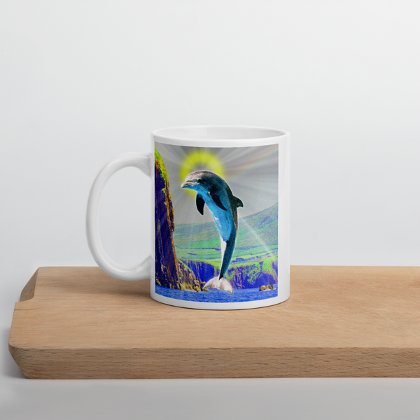 St Fungie of Dingle Bay New Irish Icons Mug