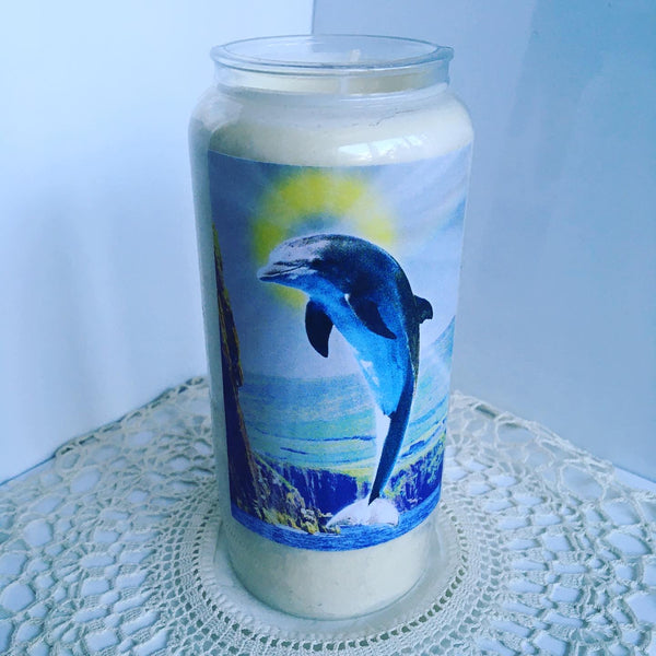 St Fungie of Dingle Bay New Irish Icons Candle