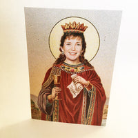St Mary of Mná na hÉireann — A6 greeting card
