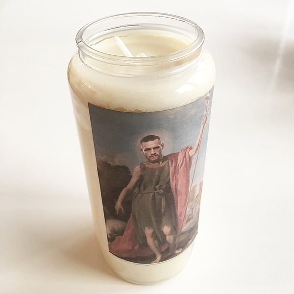 St Conor of Crumlin New Irish Icons candle