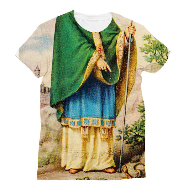 St Patrick all over t-shirt New Irish Icons