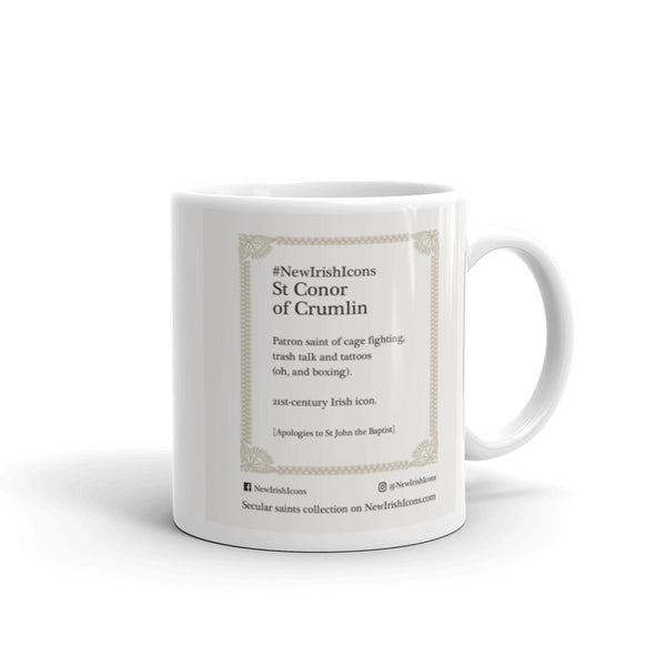 St Conor of Crumlin New Irish Icons mug