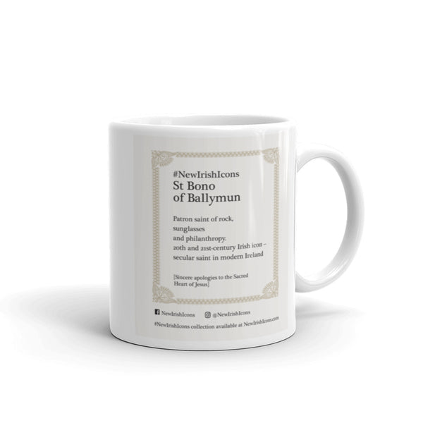 St Bono of Ballymun New Irish Icons Mug