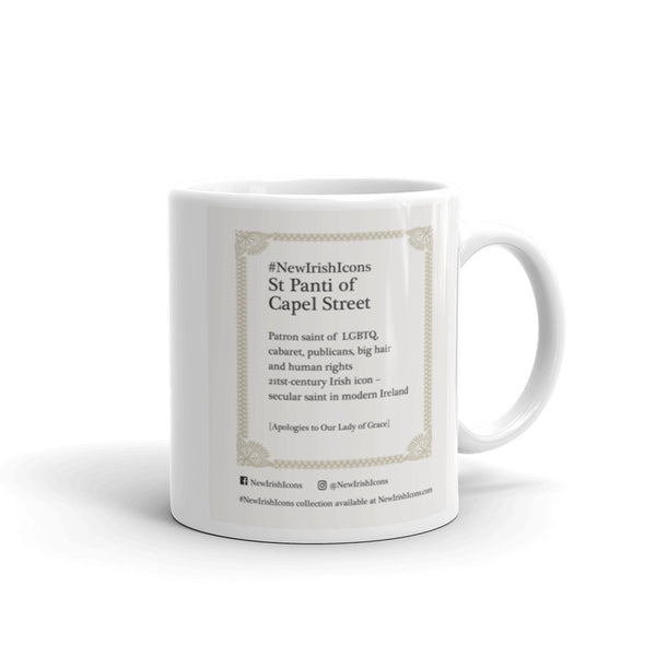 St Panti of Capel Street New Irish Icons Mug