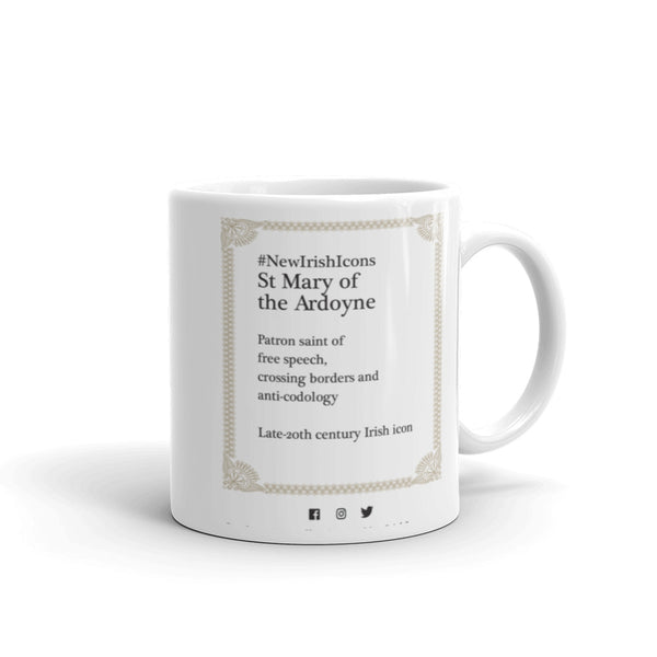 St Mary of the Ardoyne mug back