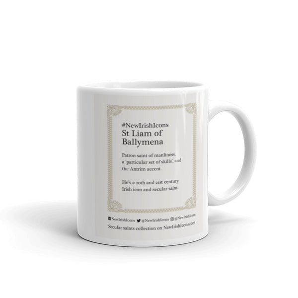 St Liam of Ballymena New Irish Icons mug