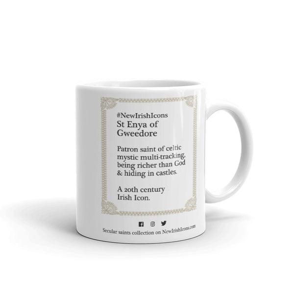 St Enya of Gweedore New Irish Icons Mug