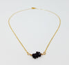 The Sorrell Necklace - Garnet Nugget Necklace