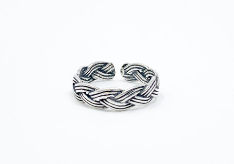 Braided Toe Ring