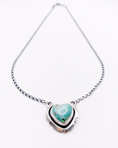 Jagged Heart Necklace