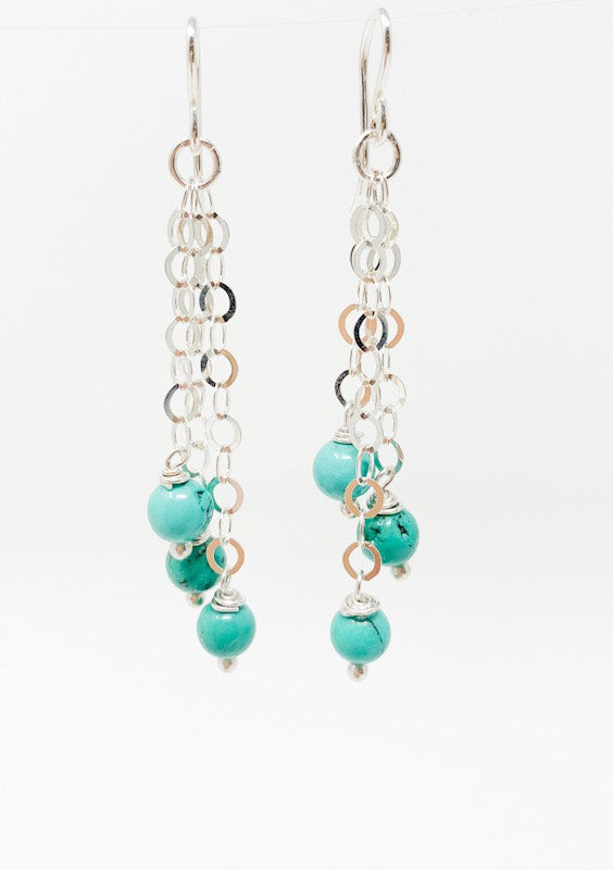 Turquoise Trailblazer Earrings