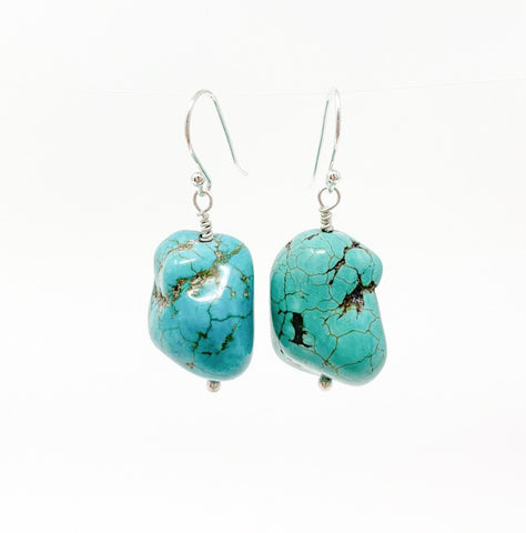 Turquoise Nugget Dangles