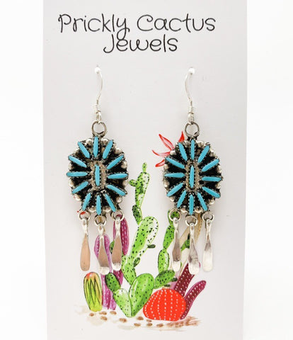 The Vaquera Dangle Cluster Earrings