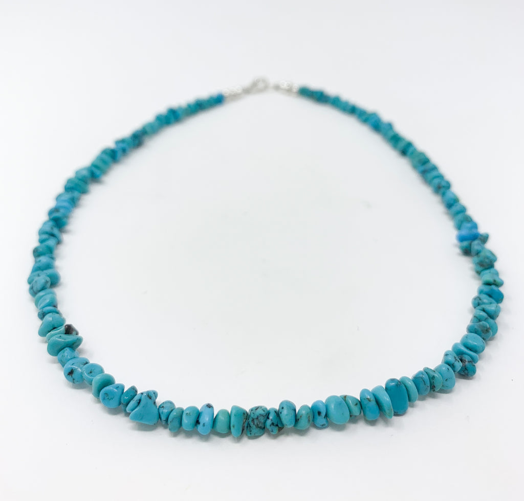 Turquoise Nugget Necklace - Men's