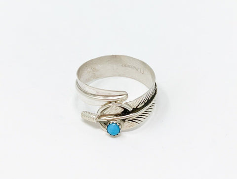 The Bayou Feather Ring