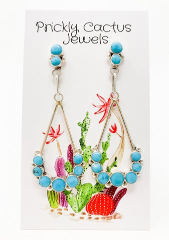 The Jacinto Post Dangle Earrings