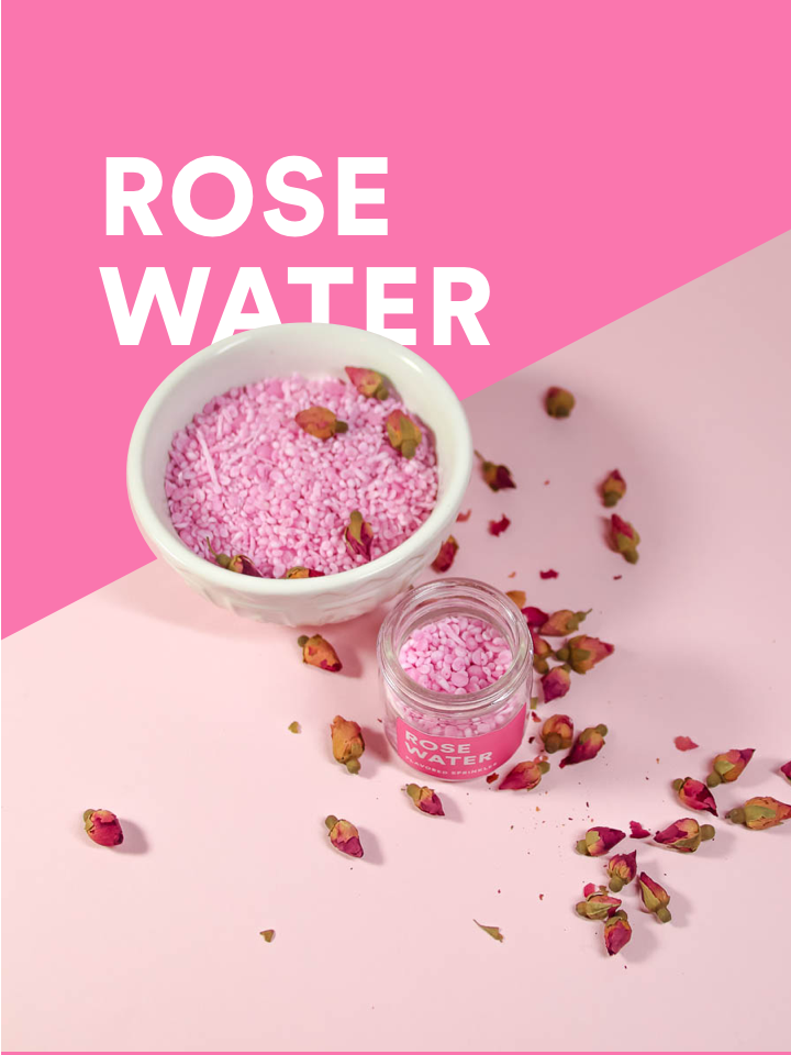 Rosewater sprinkles: not your grandma's potpourri