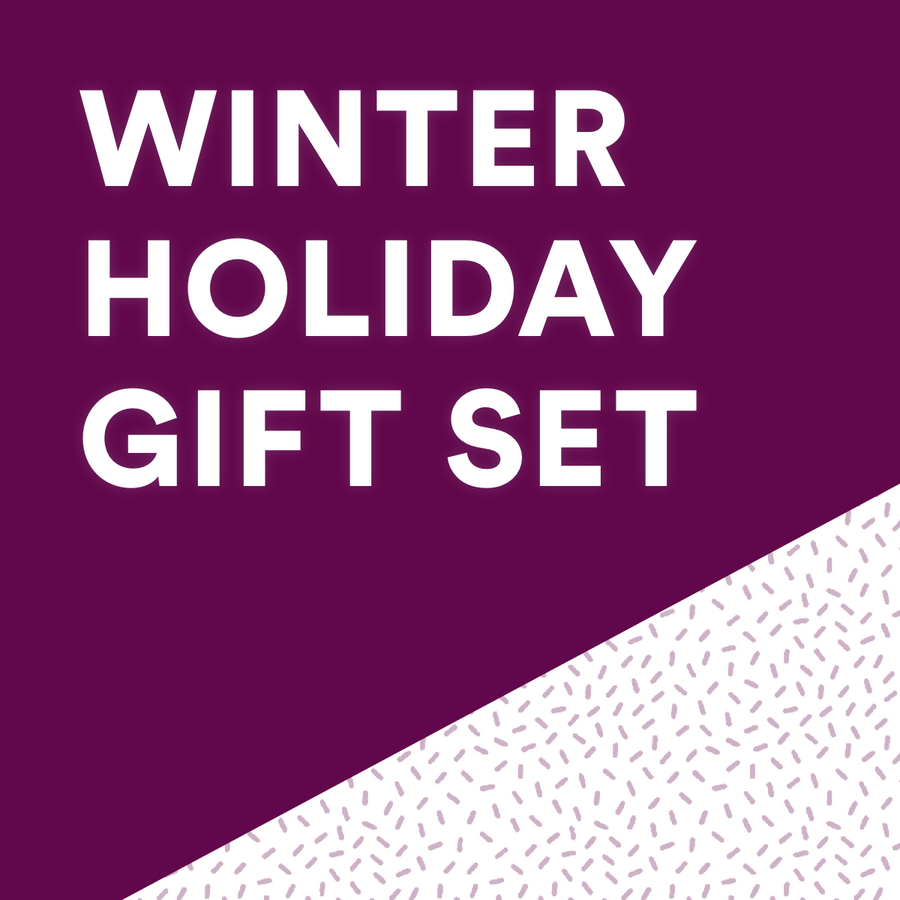 Winter holiday gift set