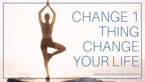 According to Science, Change 1 Thing & Change Your Life