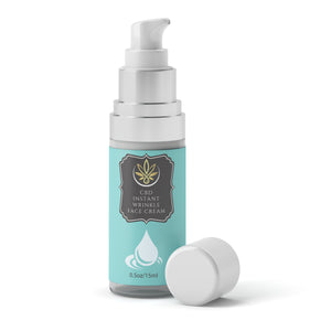 CBD Instant Wrinkle Face Serum - www.puresourceextracts.com
