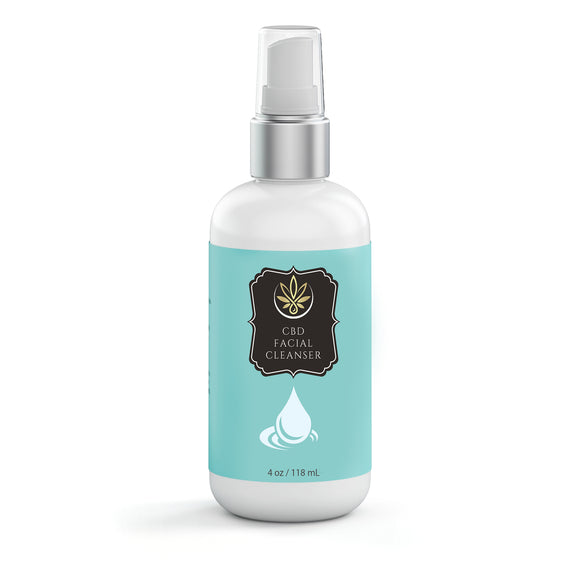 CBD Facial Cleanser - www.puresourceextracts.com