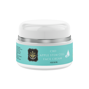 CBD Apple Stem Cell Anti-Aging Face Cream - www.puresourceextracts.com