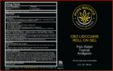 CBD + Lidocaine 4% Relief Roll-on Gel (500mg CBD/4% Lidocaine)