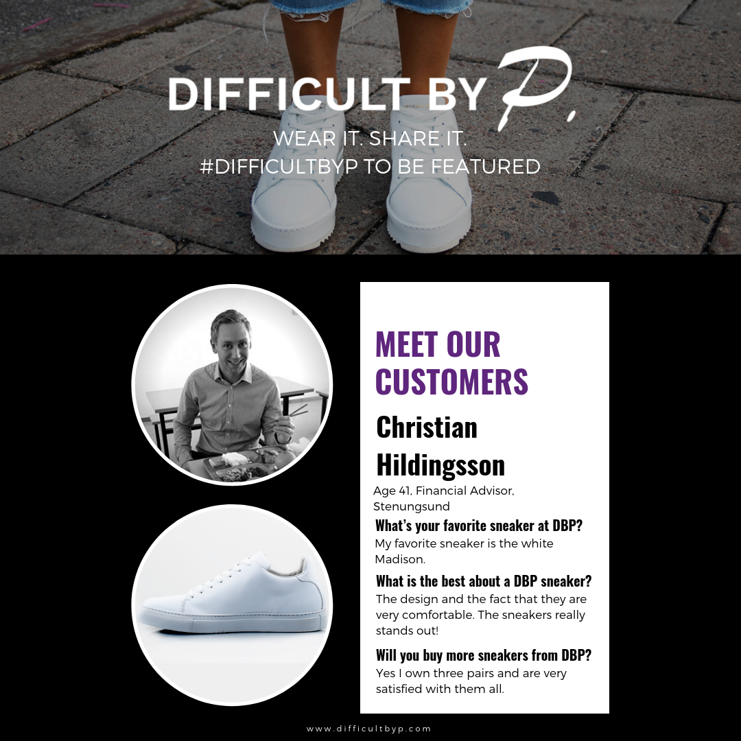 Featured Customer: Christian Hildingsson