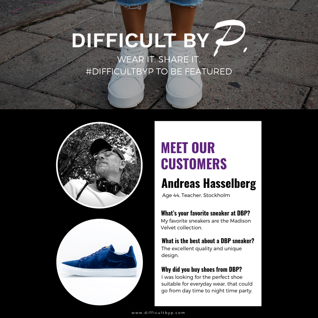 Andreas Hasselberg Difficult by P sneakers review