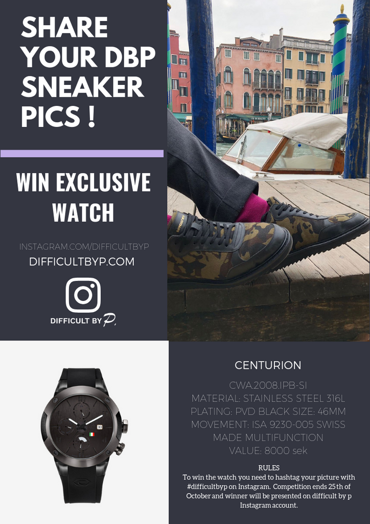 Competition Difficult by P Win exclusive watch