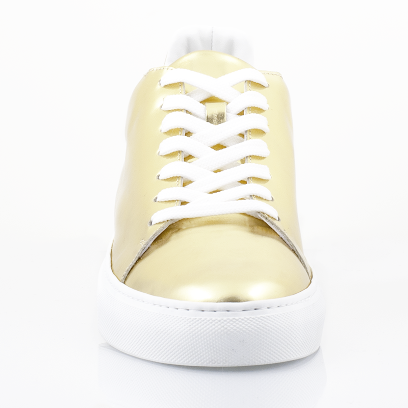 Ladies Madison Gold Sneaker