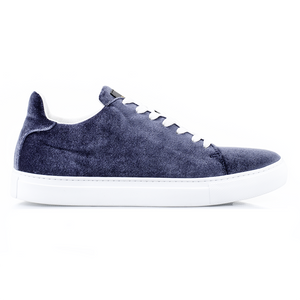 Madison Velvet Soft Blue Sneakers