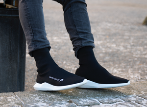 Ladies Boston Black Sneaker