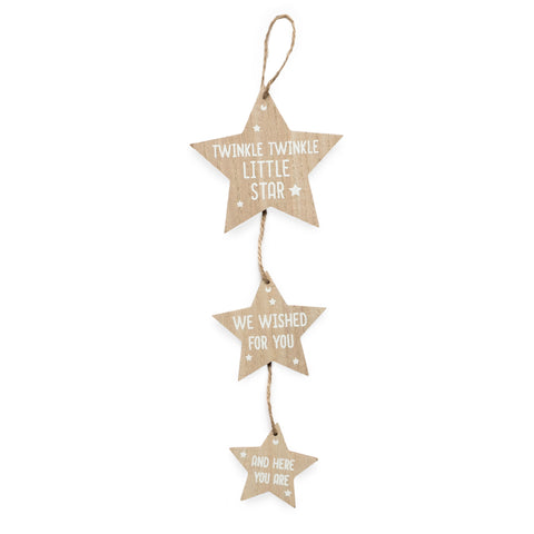 Stars Hanging Nursery Decoration
