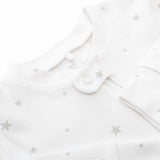 Zip Up Baby Grow - Star Print OUTLET