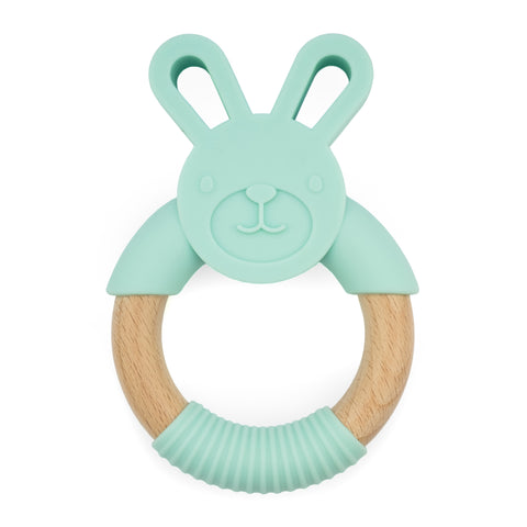 Silicone Teether - Mint Green