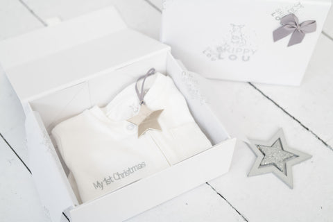 'My First Christmas' Personalised Star & Zippy Set