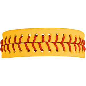 "The Perfect Gift ""The Original Softball Bracelet"" Adjustable ©2007 Safe - Nickel & Lead Free"