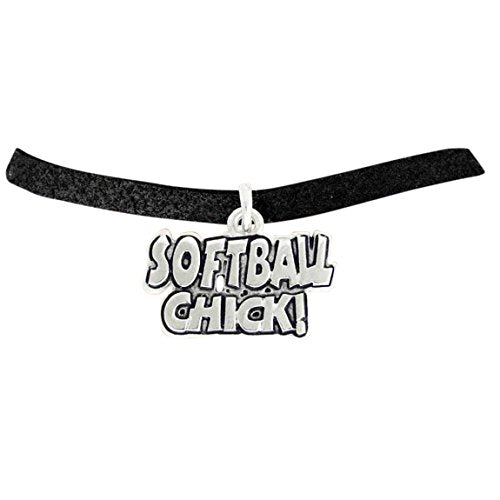 """the perfect gift """"softball chick"""" adjustable bracelet  ©2010 hypoallergenic, nickel & lead free"""