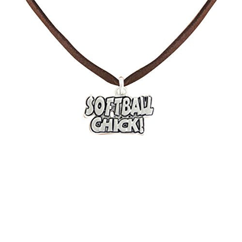 softball chick  ©2010 hypoallergenic adjustable necklace nickel, lead & cadmium free